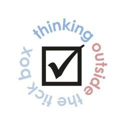 Tick box logo